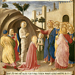 12. Raising of Lazarus, Fra Angelico