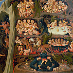 The Last Judgement, detail – The damned in hell