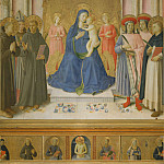 Fra Angelico - Bosco ai Frati Altarpiece