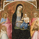Madonna and Child with Saints, Fra Angelico