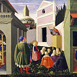 Perugia Altarpiece, predella – The Story of St Nicholas, Fra Angelico