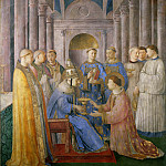 St Peter Consacrates St Lawrence as Deacon, Fra Angelico