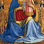Mary with the Child, with Saint Dominic and Peter Martyr, Fra Angelico