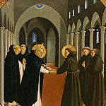 Meeting of Saint Francis and Saint Dominic, Fra Angelico