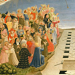 The Last Judgement, detail – The righteous, Fra Angelico
