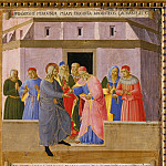 15. Judas receives the silver coins, Fra Angelico