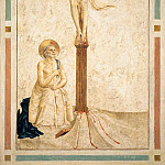 20 Crucifixion with St Dominic, Fra Angelico