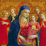 Madonna and Child with Angels, Fra Angelico
