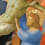 Santa Trinita Altarpiece – Deposition from the Cross, detail, Fra Angelico