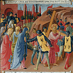 25. Carrying the Cross, Fra Angelico
