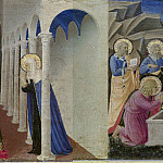 Cortona Altarpiece – Annunciation, predella, Fra Angelico