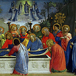 The Burial of the Virgin, Fra Angelico