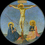 Tondo with Crucifixion, Fra Angelico