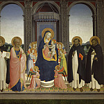 San Domenico Altarpiece, Fra Angelico