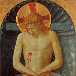 Fra Angelico - Bosco ai Frati Altarpiece - Man of Sorrows