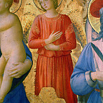 Fra Angelico - Bosco ai Frati Altarpiece, detail