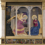 Cortona Altarpiece – Annunciation, Fra Angelico