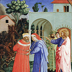 Fra Angelico - Apostle Saint James the Greater Freeing the Magician Hermogenes