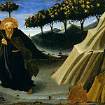 Fra Angelico - Saint Anthony Abbot Shunning the Mass of Gold