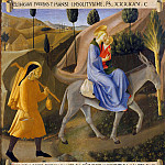 08. Flight into Egypt, Fra Angelico