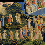 The Last Judgement, detail – The dance of the beatified, Fra Angelico