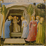 30. Pious Women at the Tomb, Fra Angelico