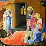 Annunciation, predella – Adoration of the Magi, Fra Angelico