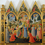 Fra Angelico - Descent from the cross, ca 1430-35, 150x164 cm,