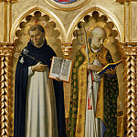 Perugia Altarpiece – St Dominicus and Nicholas of Bari, Fra Angelico
