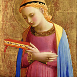 Fra Angelico - Annunciatory Virgin