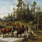 Driving Cattle in Småland