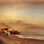 Oswald Achenbach - The Bay Of Naples