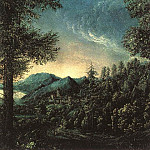 The Danube Valley near Regensburg, Albrecht Altdorfer