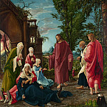 Christ taking Leave of his Mother, Albrecht Altdorfer
