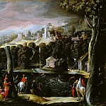 Landscape with Deer Hunting