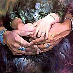 Jimmy Albeita - abeita study of hands