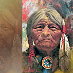 Jimmy Albeita - abeita cheyenne warrior