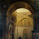 Carl Spitzweg - Byzantine Church
