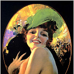Rolf Armstrong - Queen of the Ball