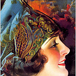 Rolf Armstrong - Cos_039_Rolf_Armstrong_Portrait_of_Martha_Mansfield