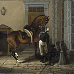 Gentleman, the Favourite Horse of King Carl XV of Sweden