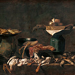 Bernardino Luini - Kitchen Still Life