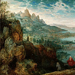 Pieter Brueghel The Elder - Landscape with the Flight into Egypt