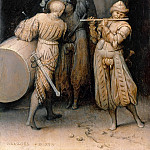 Pieter Brueghel The Elder - Three soldiers