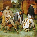 Pieter Brueghel The Elder - The Beggars (The Cripples)