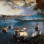 Pieter Brueghel The Elder - Battle in the Bay of Naples