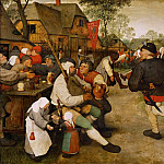 Pieter Brueghel The Elder - The peasant dance
