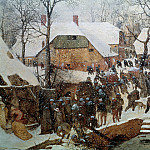 Pieter Brueghel The Elder - Adoration of the Kings in the Snow