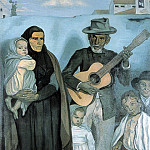 Emile Bernard - Spanish emigrants