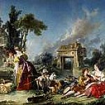 Francois Boucher - fountain of Love